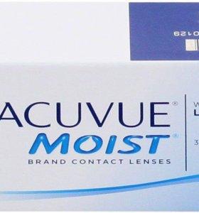 Контактные линзы 1day acuvue moist