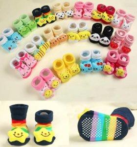 Новые качественные носки для новорожденных, 1 год