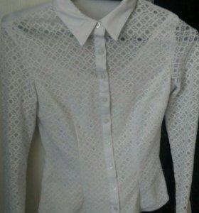 Школьная рубашка для девочки.