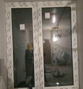 Пластиковое окно от застройщика