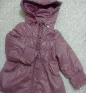 Куртка осень-весна для девочки