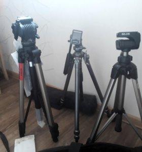 Штативы для фото и видео съемки