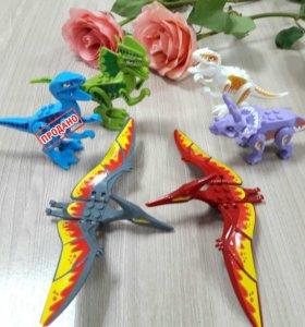 Динозавры лего аналог