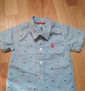 Рубашка р 68