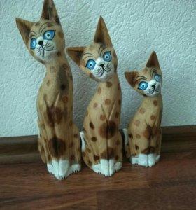 СРОЧНО. Деревянные коты