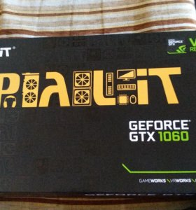 Видеокарта Palit GeForce GTX 1060 1506MHz PCI-E 3.