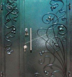 Металлические двери по индивидуальному заказу