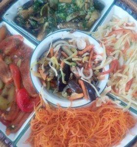 Изготовление салатов на заказ