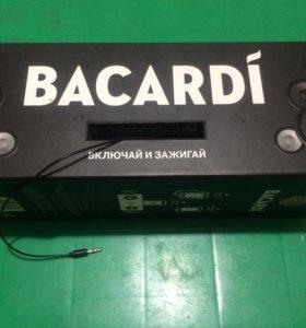 Колонка bacardi