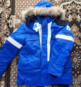 Зимний костюм газпром