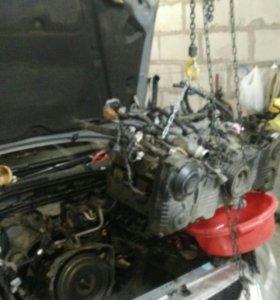 Двигатель на субару ej204