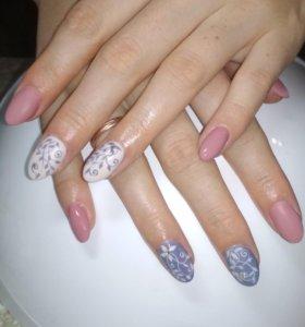 Наращивание ногтей (практикуюсь)
