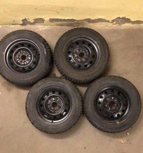 Колеса r14, 175/65 зимние шипованные
