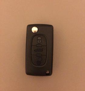 Складной Ключ для Пежо 308/Peugeot 308