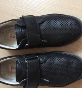 Туфли кожаные для мальчика 33 р