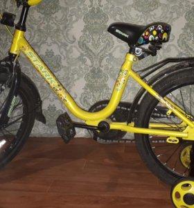 Велосипед жёлтый.о/с.family