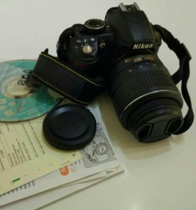 Nikon D3100 kit 18-55 VR фотоаппарат