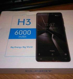 Новый смартфон CUBOT H3 с аккумулятором в 6000 мА/