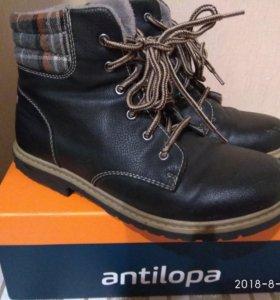 Ботинки мужские, размер 35