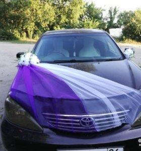 Прокат авто украшений на свадебный автомобиль