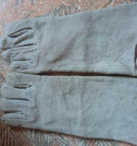 Перчатки удлинённые