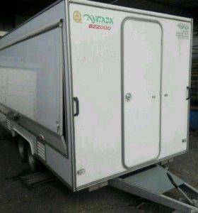 Холодильное оборудование и торговый прицеп