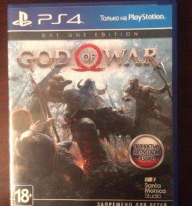 God of war(игра на ps 4)