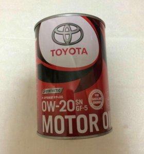 Toyota 0w20, 1L синт.
