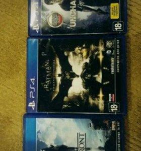Диски на PS4