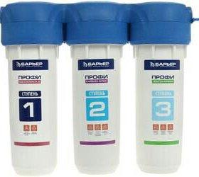 Проточный питьевой фильтр Барьер ПРОФИ Standard