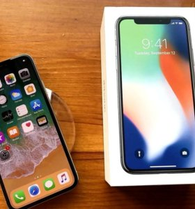 iPhone X. 64/GB silver