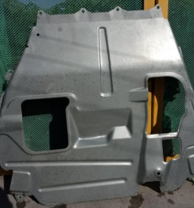 Защита картера двигателя на Лада Калина 2