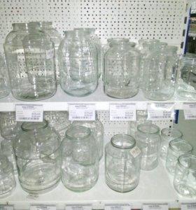 Продам стеклянные банки