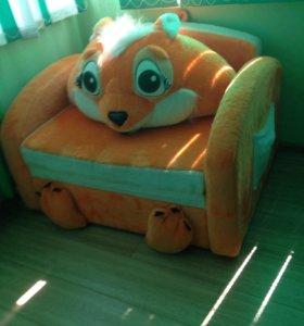 Кресло-кровать(лисичка)