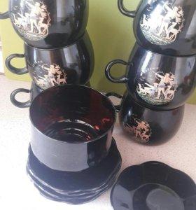 Чайный сервиз, (г.Гусь-хрустальный)