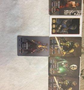 Карты Mortal Kombat X коллекция 10