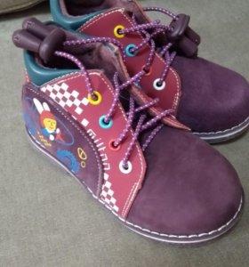 Ботиночки Милтон новые