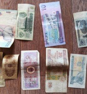 Монеты разных времен