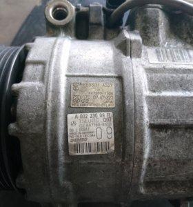 Компрессор кондиционера мерседес w221