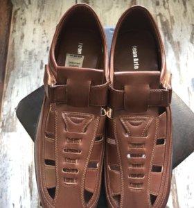 Туфли-сандалии летние, мужские