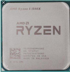 AMD ryzen 5 1500X (am4)