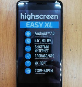 Сотовый телефон Highscreen