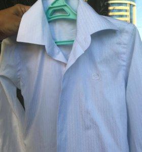 Белая рубашка р.122-128