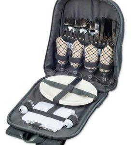 Рюкзак для пикника с наполнением