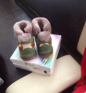 Сапожки детские зима