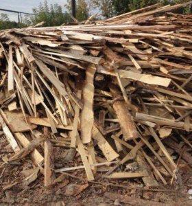 Обрезь деревянная, дрова