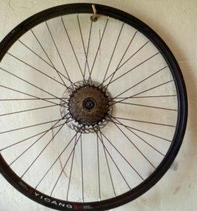 """Продам колёса на горный велосипед 26"""""""
