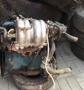 Двигатель в сборе инжектор 2107