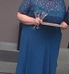 Шикарное платье на торжество размер 56-58
