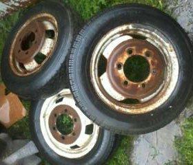 колеса газели